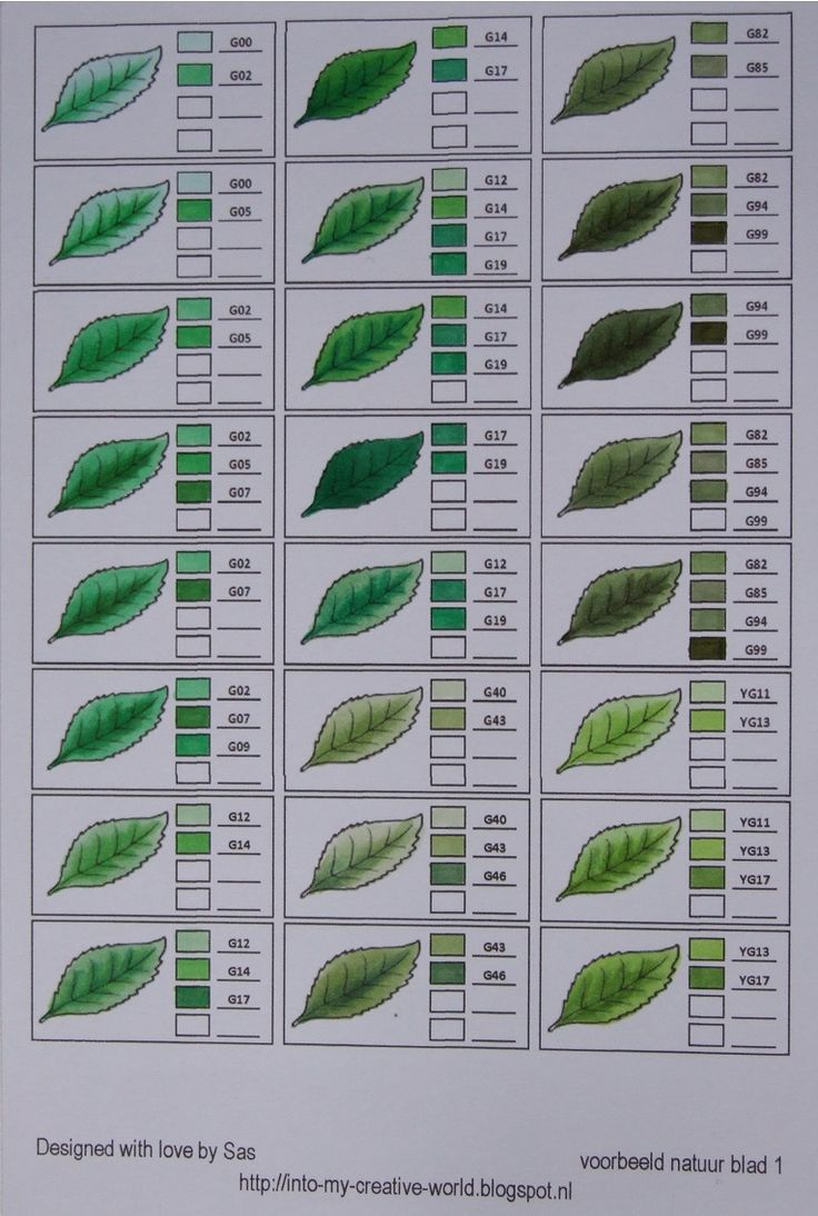 Leaves 1 #CopicLeaves