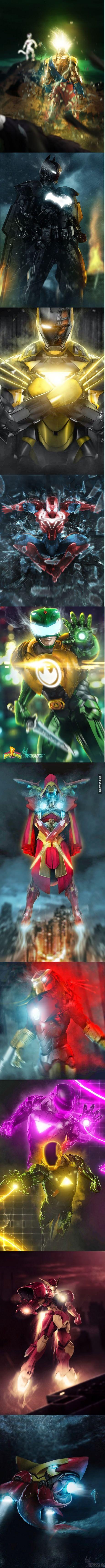 Iron Man Mashups. Freakin awesome!