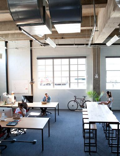 Tech Startups Turn to Cool Office Designs   http://www.bloomberg.com/news/2012-06-08/tech-startups-turn-to-office-designs-as-recruiting-tool.html#