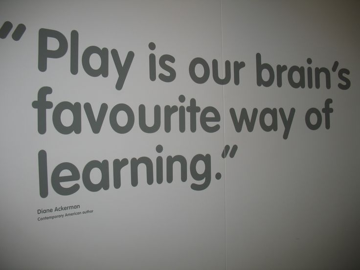 Play is our brain's favorite way of learning