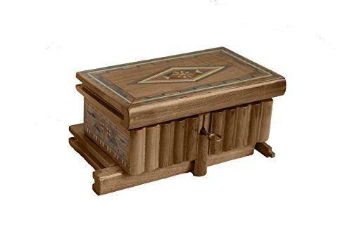 Magic Box - Puzzle Box - Jewelry Box - Puzzle Box - Secret Box - Wooden Money Puzzle Box - Jewelry Container - Hidden Box -Special Gift Idea - Christmas Gift - Unique Gift - Unusual Christmas Gifts - Secret