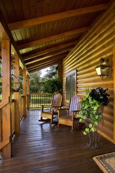 Log cabin homes kits exterior photo gallery log cabin for Log cabin builders in alabama