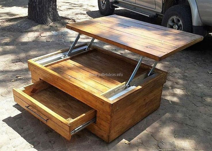 Best 25 handmade wood furniture ideas on pinterest - Fabriquer table palette ...
