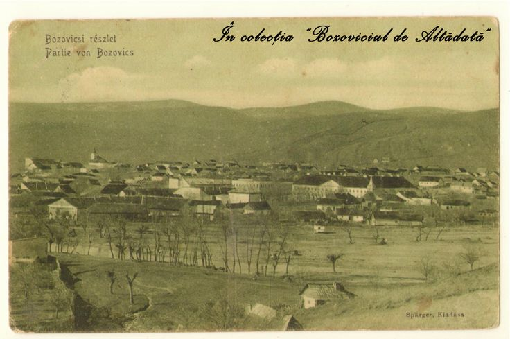 Bozoviciul de altadata, vedere de ansamblu, circulata la 1915. #descoperabozovici (Bozovici. old postcards. vintage postcards)