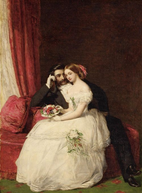 """♥ """"The Proposal""""  William Powell Frith, R.A.  1856"""