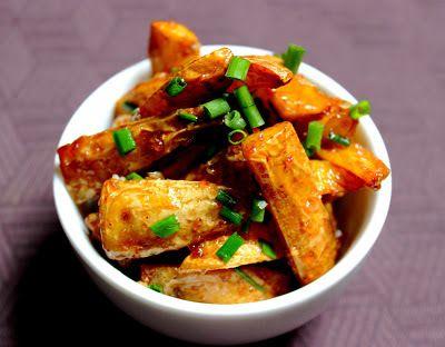 Invitations aux voyages culinaires: P102 - Pommes de terre sautées au Tamarin