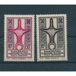 1949 FEZZAN EMISSIONI PER IL GADAMES POSTA AEREA  2 VAL MNH MF16251