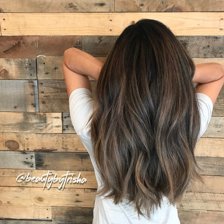 Textured Hair Cut/  thick Asian hair styles/ Smokey balayage / Guy Tang metallic hair color / #guytangmetallics by Beauty by Trisha @ Maui Hair Studio www.beautybytrisha.com