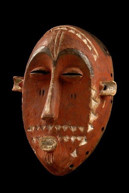 Mask, D. R. Congo, Pende