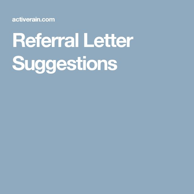 Best 25+ Referral letter ideas on Pinterest Q photo, Smile photo - business referral agreement