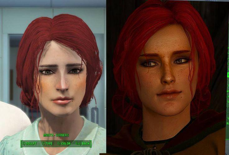 Triss Merigold recreated in Fallout 4 #trissmerigold #triss #merigold #fallout4 #fallout4characters #fallout #falloutgame #bethesda #fo4 #fo4portraits #thewitcher #witcher #thewitcher3 #witcher3 #cdprojektred #wiedźmin