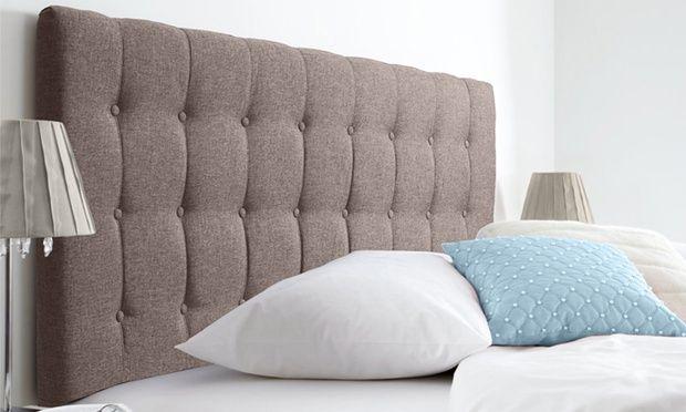 Luxe Linen Scandinavian Bed Head
