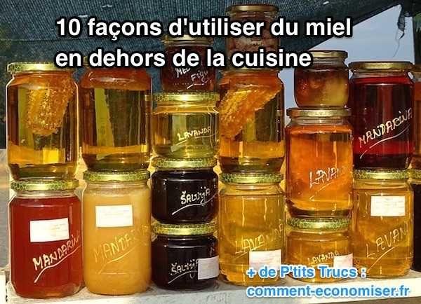 utilisation miel beauté santé hors cuisine