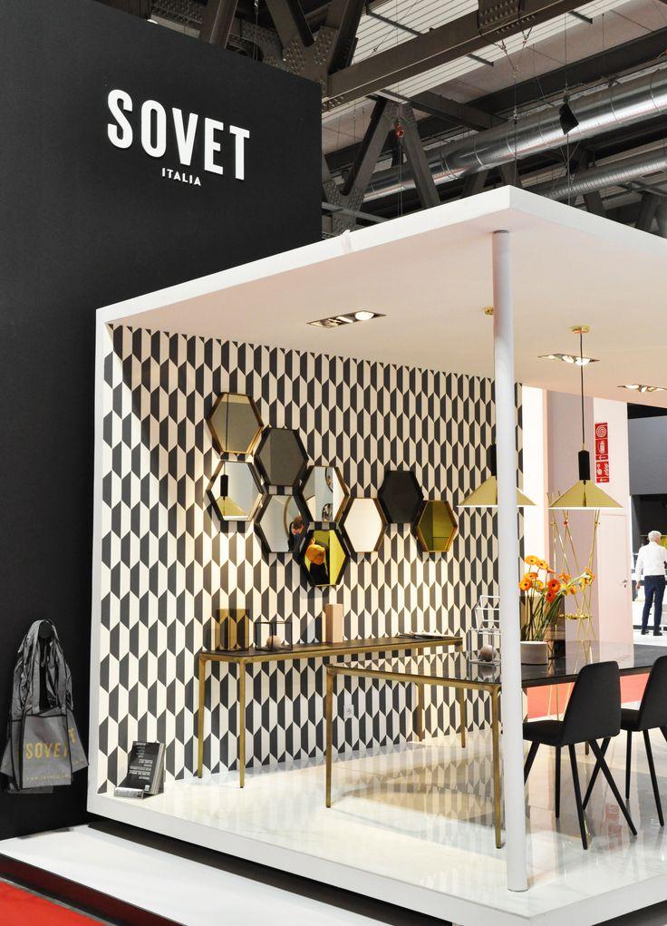 Sovet stand at Salone del Mobile 2017 #design #sovet #sovetitalia #interior #decoration #event #furniture #architecture  #salonedelmobile