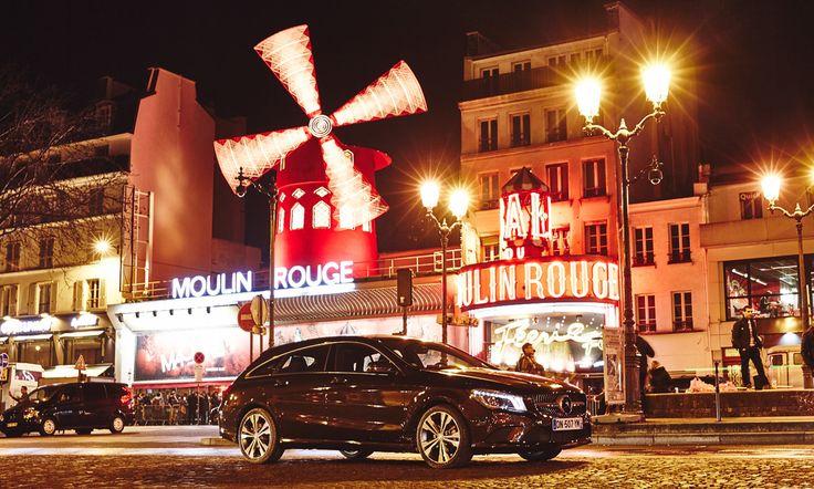 Big. City. Hunter. The CLA Shooting Brake in Paris.