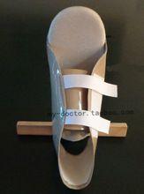 Heupprothese patiënt anti- rotatie hout schoen medische vaste enkel schoenen, malunion rotatie misvorming te voorkomen breuk.(China (Mainland))