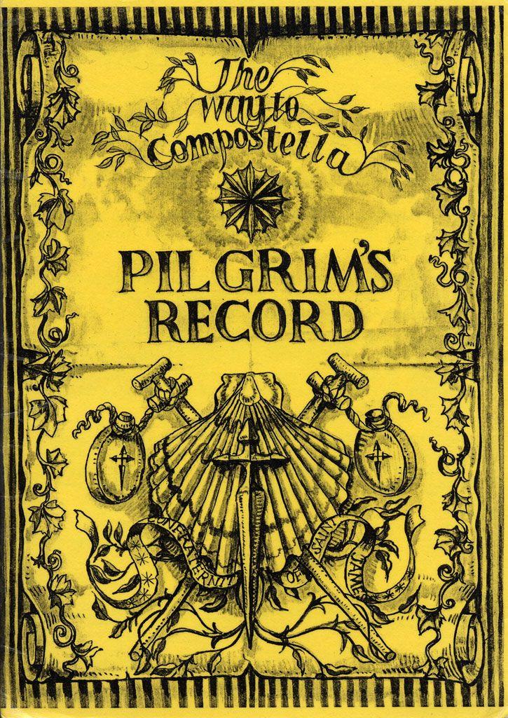 Santiago Pilgrims' Pictures:The CSJ Pilgrim's Passport (cover)