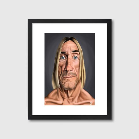 Celebrity Sunday - Iggy Pop | Monde Mosaic art | decor | wall art | inspiration | caricatures | home decor | idea | humor | gifts