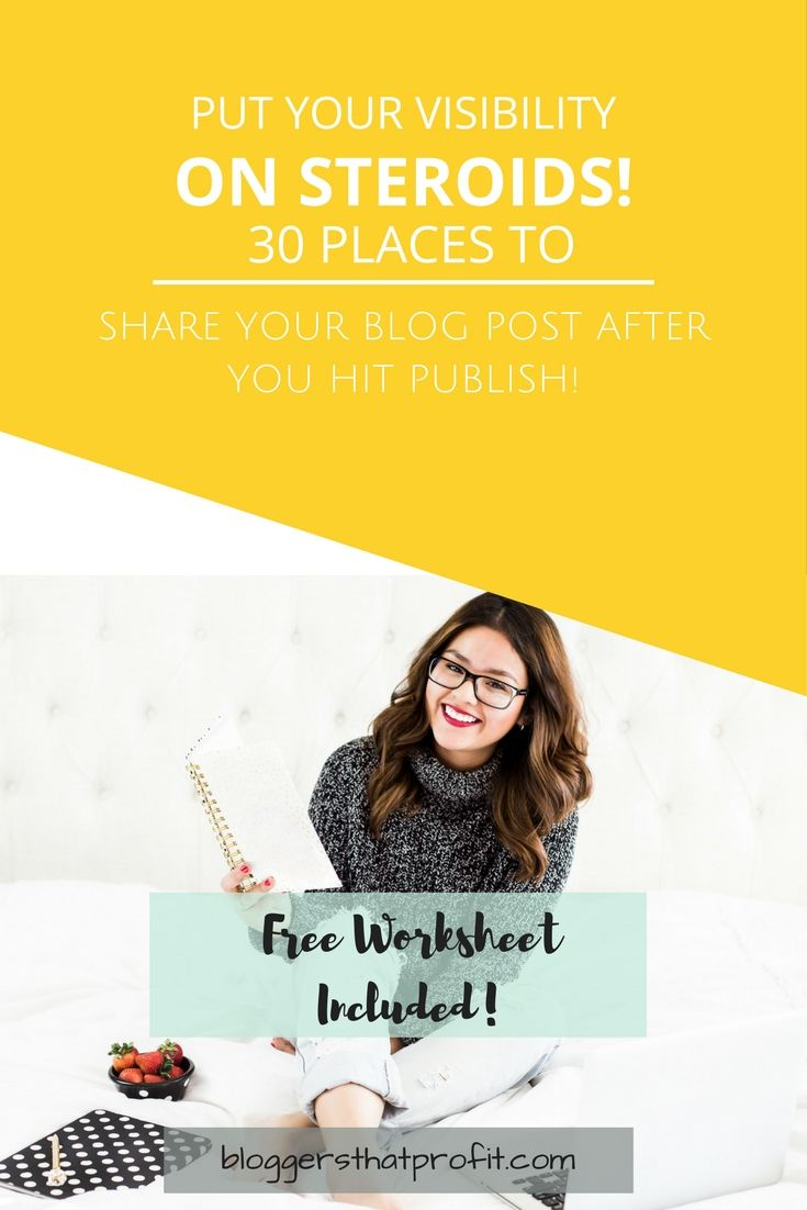 Knowing where to share my blog and how to get traffic to my blog are questions that every blogger asks! Check out these 30 places where you can promote your blog posts after you hit publish!