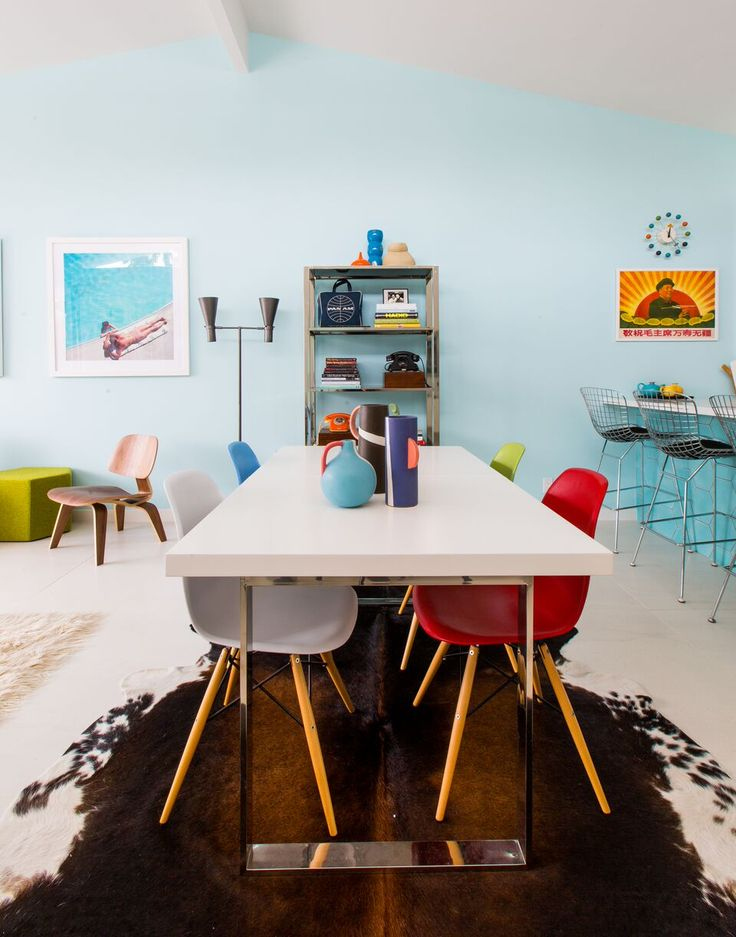 Create Vintage Charm In Your Home Through Timeless Midcentury Modern Pieces And Colorful Flair Want Retro DesignModern DesignDining Room