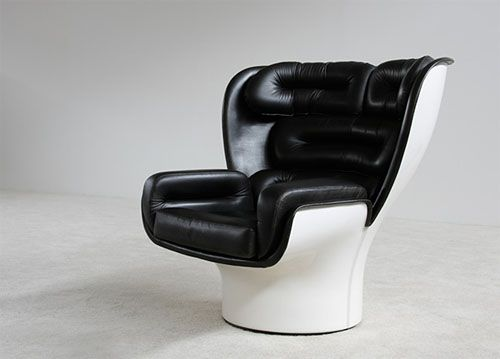 Joe Colombo Elda chair. I was very lucky to be given one of these (not in the same condition) by the very generous Fergus Henderson of St John Restaurant (https://www.stjohngroup.uk.com/)