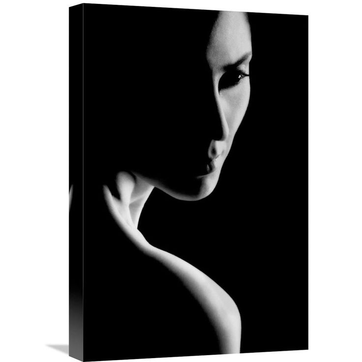 Global Gallery Mohammad Ali Hamooni 'Her' Stretched Canvas Artwork