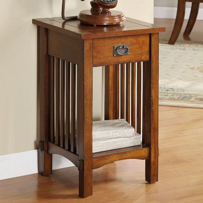 Found it at Wayfair - Valencia Mission Style End Table