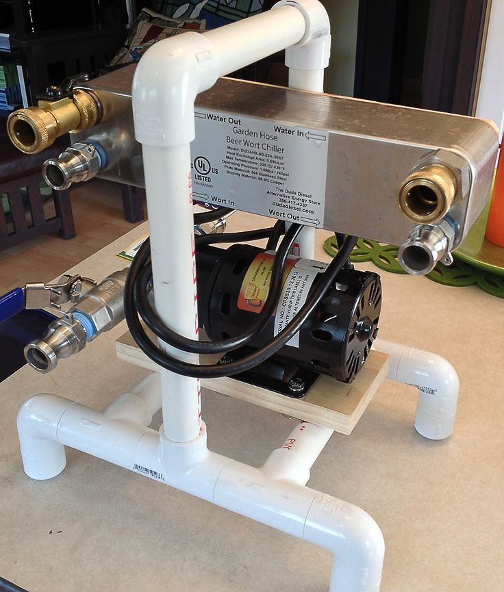 Chill Wizard Inspired Pump/Chiller Station - Home Brew Forums