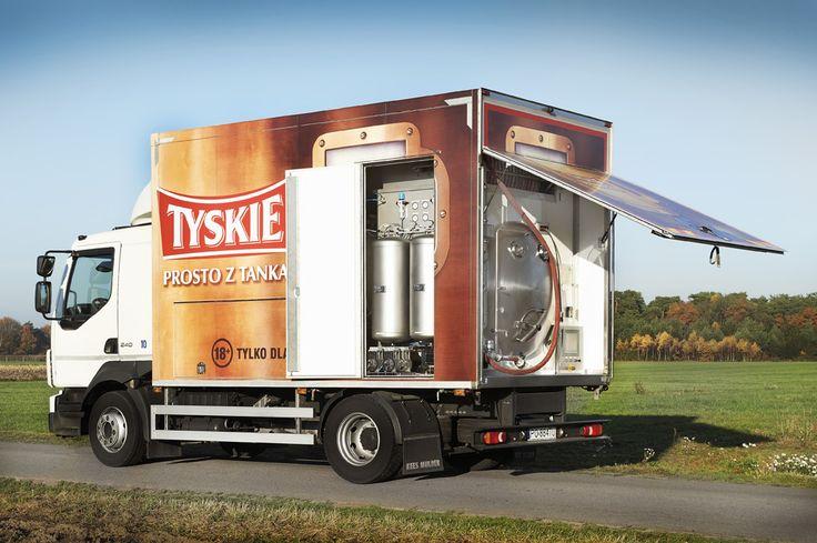 Beer Truck Duotank