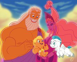 Disney's Hercules: Beginnings by =Tee-J on deviantART