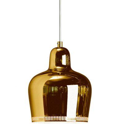 """Golden Bell"" by Artek.fi (originally by #Alvar Aalto from 1939)"