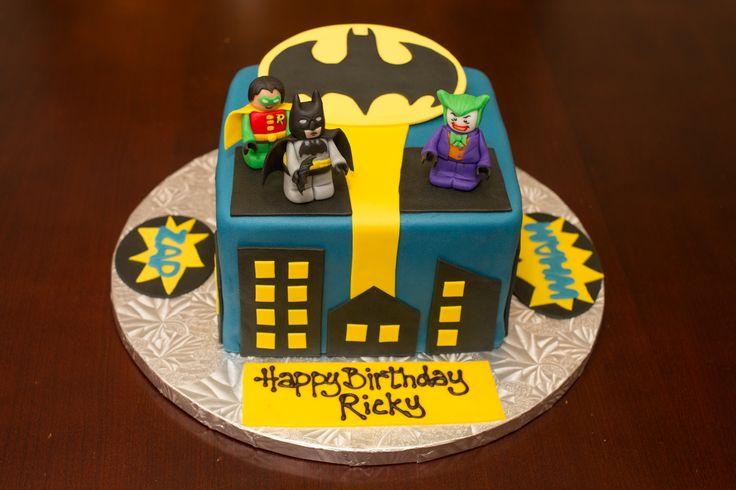 Lego Batman cake Birthday party ideas Pinterest Lego ...