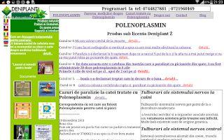 Polenoplasmin- Remediu natural pentru paralizia cateilor: Va rog sa ma ajutati cu PALEOPLASMIN gratuit pentr...