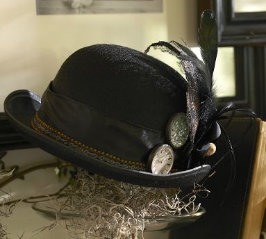 The Night Circus... Marco's bowler hat. :)