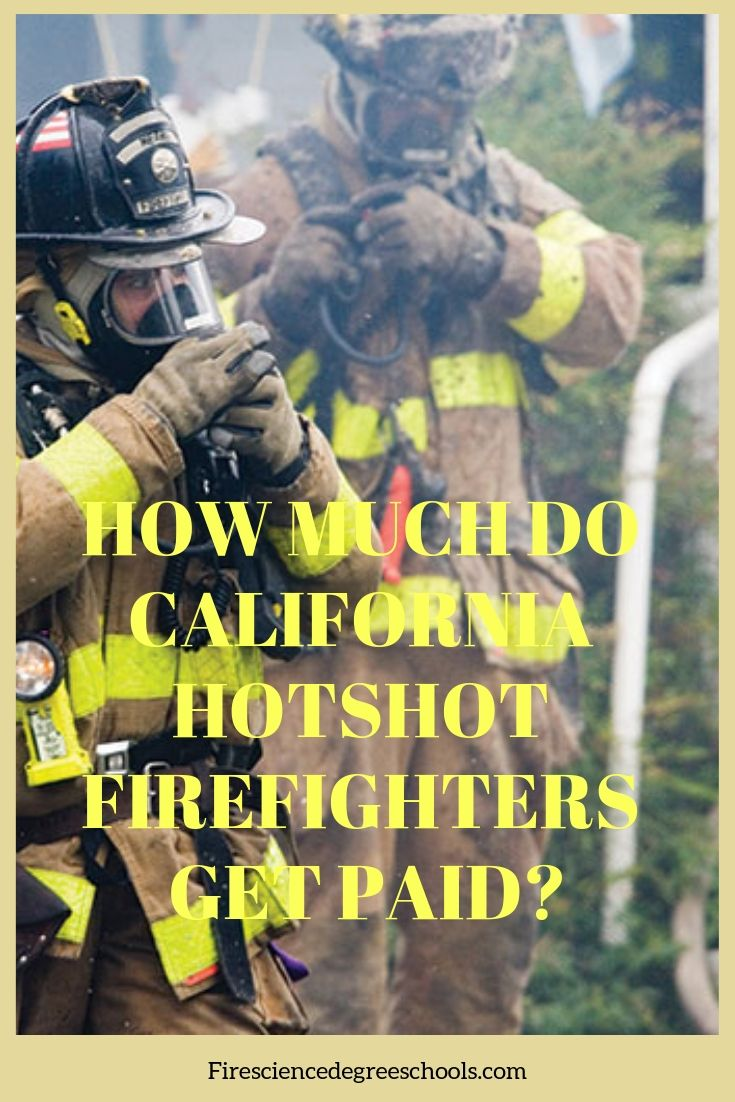 How Much Do California Hotshot Firefighters Get Paid