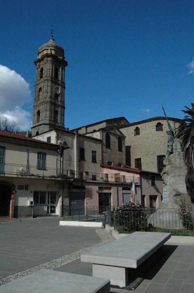Badalucco (IM), Chiesa Parrocchiale di Santa Maria Assunta e San Giorgio