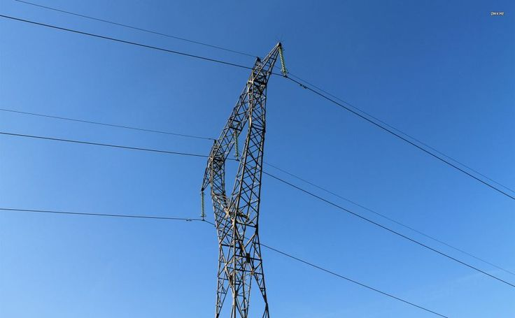 Transmission tower HD Wallpaper