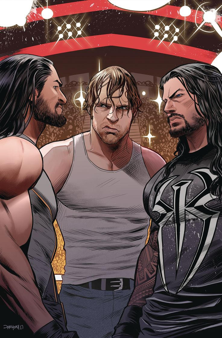 THE SHIELD IS REUNITED...against each other for the WWE Championship!
