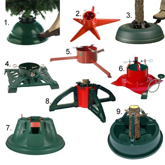 Looking forward to decorating the Christmas tree! But it might be time for a new tree stand...