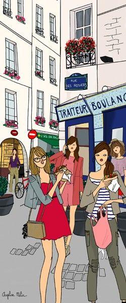 Rue Des Rosiers - Angeline Melin