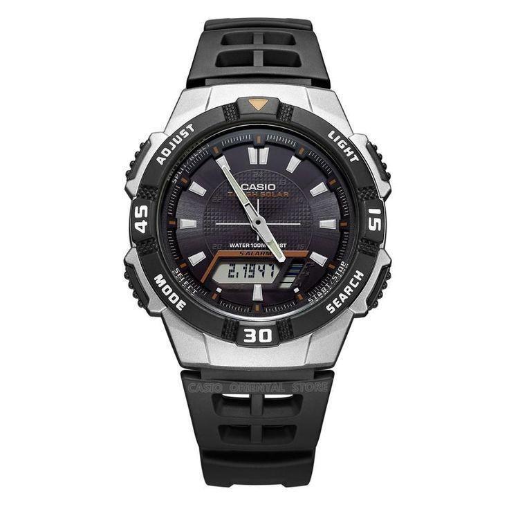 Casio Watch Army Relogios 2017 Free shipping Men Quartz Wrist Watch AQ-S810W-1A sports Swim Back Light Solar Power rubber band #MensFashionWatches