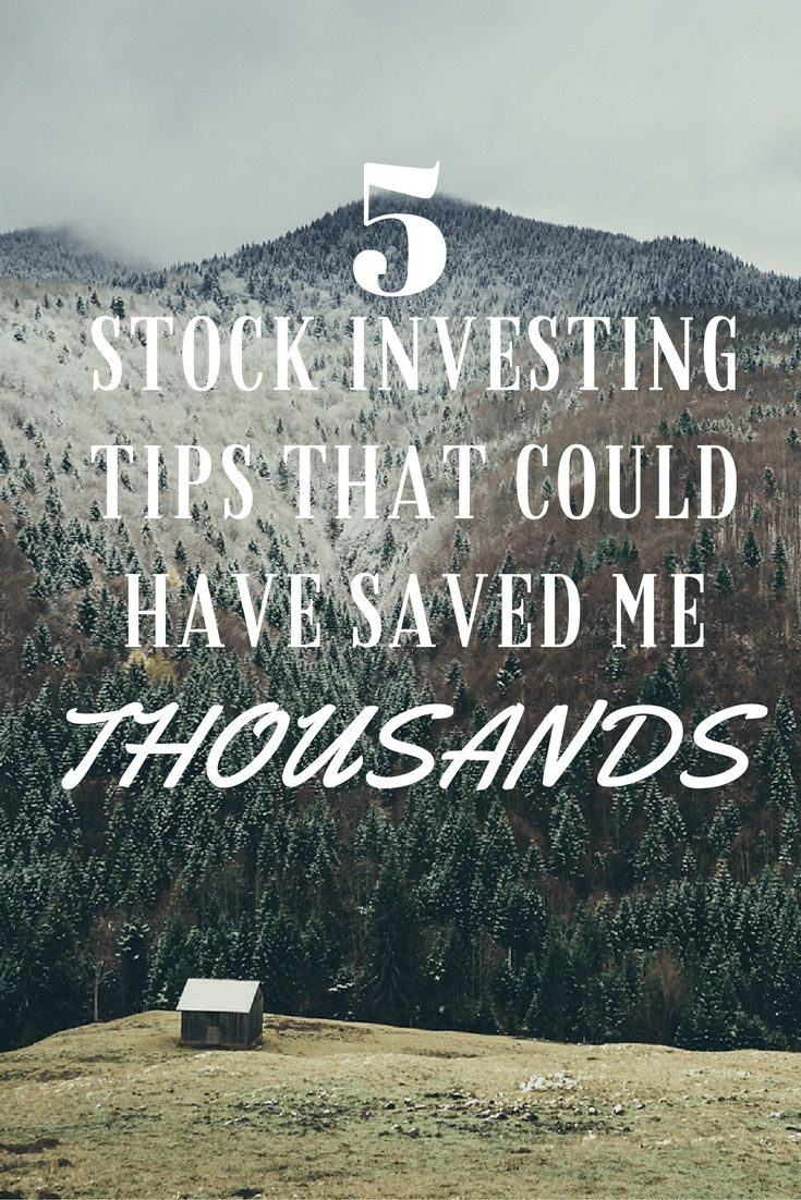 Here are 5 very important stock investing tips for those interested in the stock market.