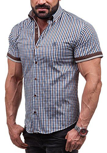 #BOLF #4510 #Braun #S #[2B2] #Herrenhemd #Kurzarm #Hemd #Shirt #T-Shirt #Figurbetont #Freizeit BOLF 4510 Braun S [2B2] Herrenhemd Kurzarm Hemd Shirt T-Shirt Figurbetont Freizeit, , , , , ,