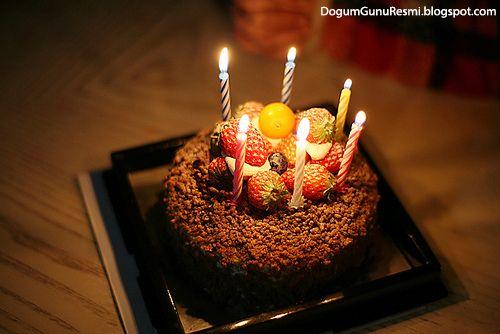 Çikolatalı Doğum Günü Pastası ~ Dogum Günü Resimleri
