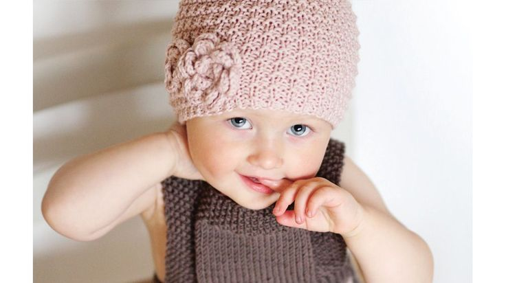 baby strikkeopskrift