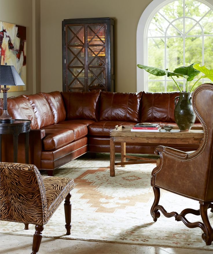 17 Best Images About Living In Leather On Pinterest Sectional Sofas Furniture And Leather
