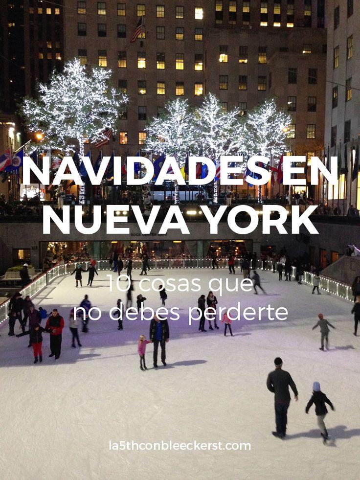 [LISTA] ¿Vas a pasar las Navidades en Nueva York? No te pierdas todo lo que puedes hacer ACTUALIZADO 2016 >> http://www.la5thconbleeckerst.com/2015/10/que-hacer-navidad-nueva-york-2015.html