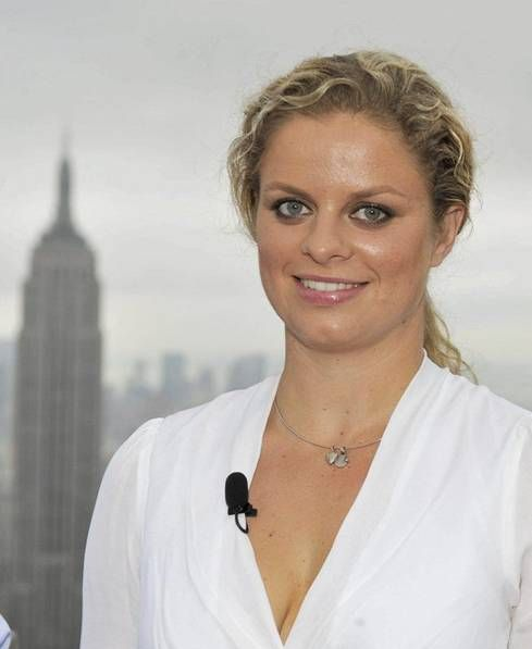 Kim Clijsters-one of my favorite tennis players-sad she retired.