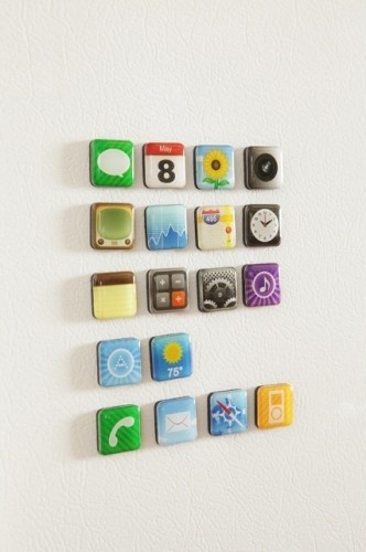 magnetsIdeas, Fridge Magnets, Iphone App, Urban Outfitters, Refrig Magnets, Stuff, App Magnets, Refrigerators Magnets, Products