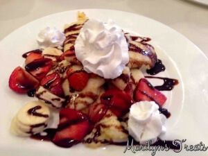 Nutella Crepes With Fruit - Marilyns Treats